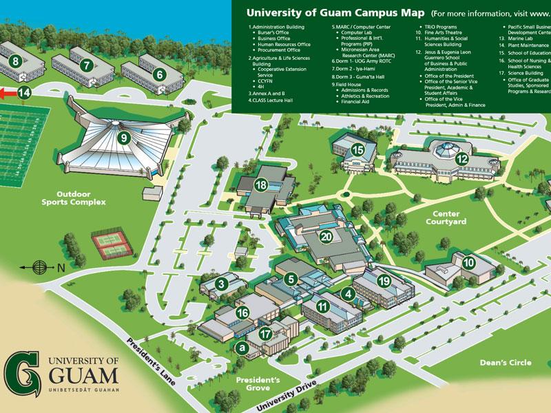 Northampton Community College Map